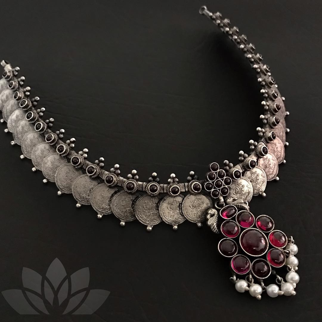 coin-necklace-designs-in-silver (4)