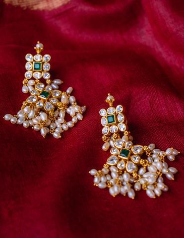 Antique Silver Earrings(1)