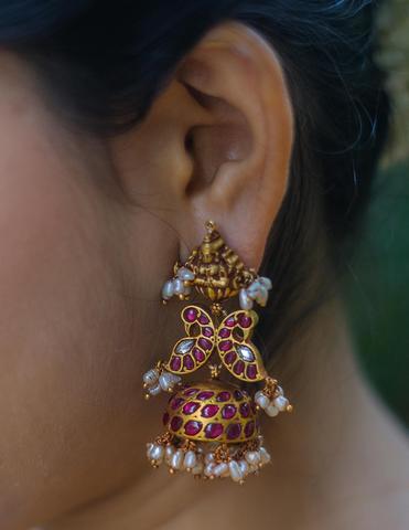 Antique Silver Earrings(10)