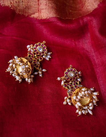 Antique Silver Earrings(3)