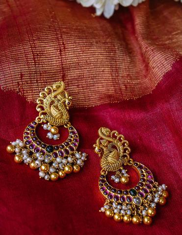 Antique Silver Earrings(4)