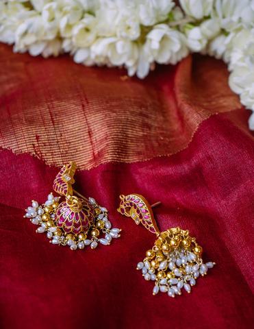 Antique Silver Earrings(5)