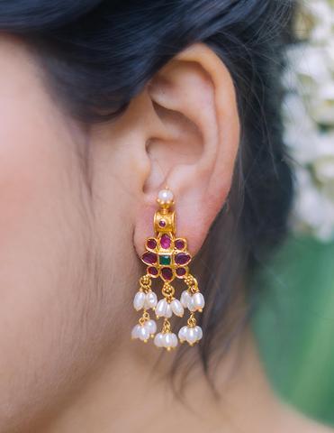 Antique Silver Earrings(7)