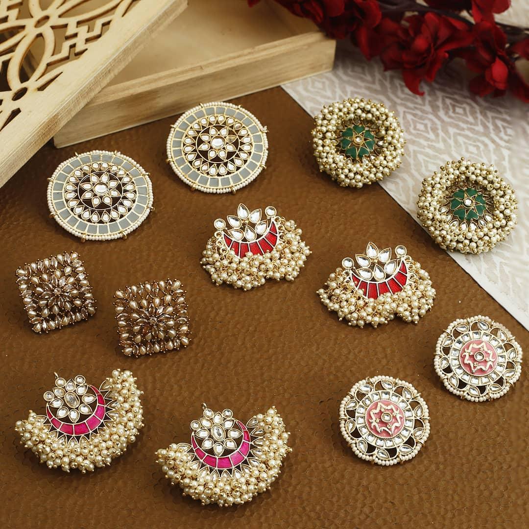Ethnic Earrings Online(10)