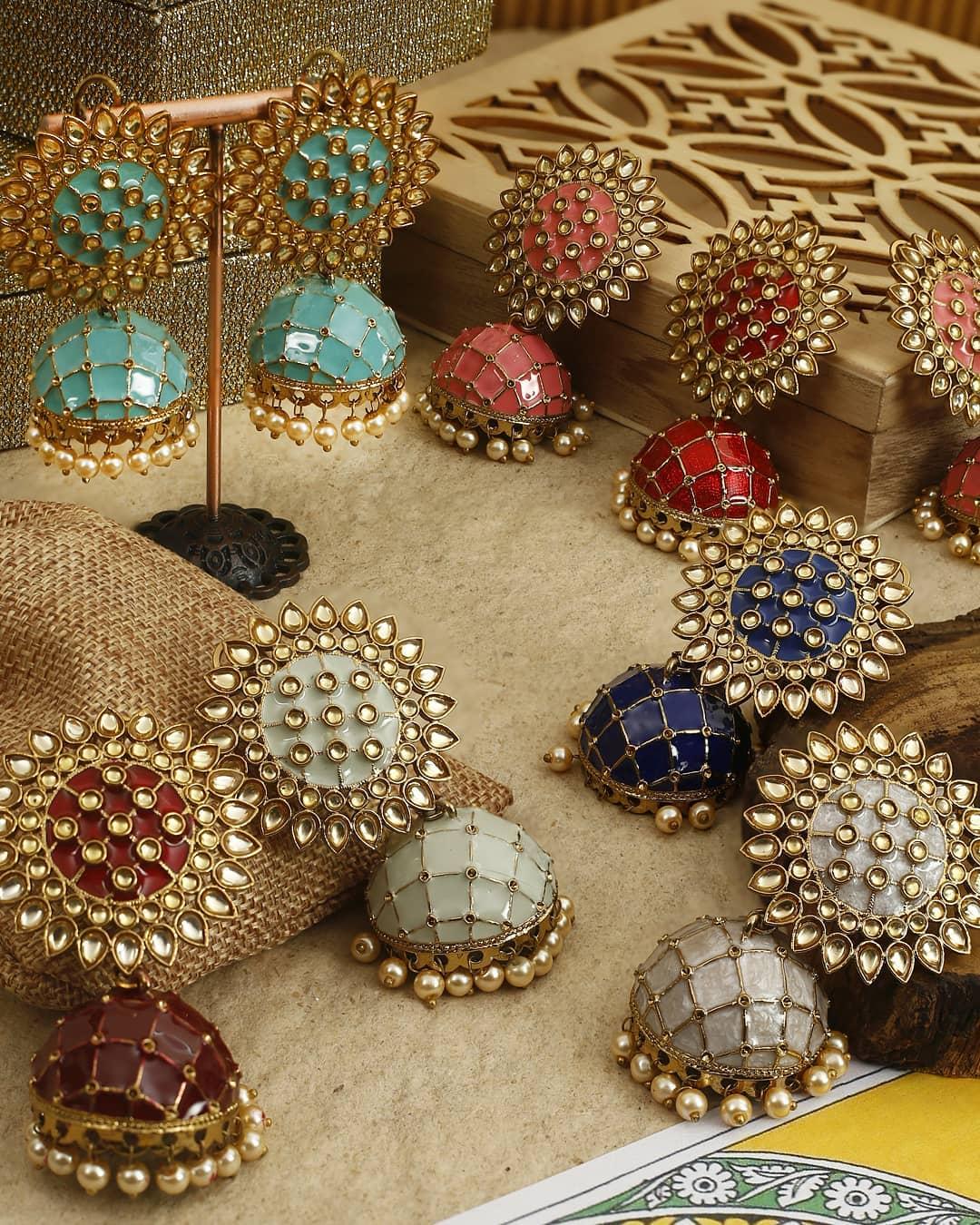 Ethnic Earrings Online(12)
