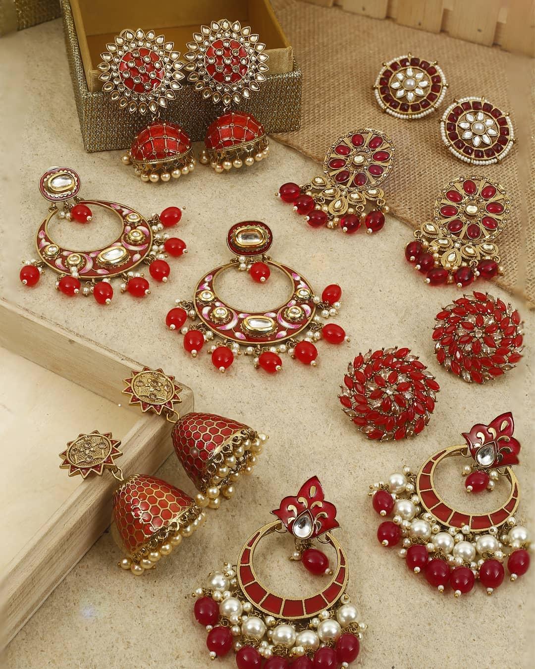 Ethnic Earrings Online(13)