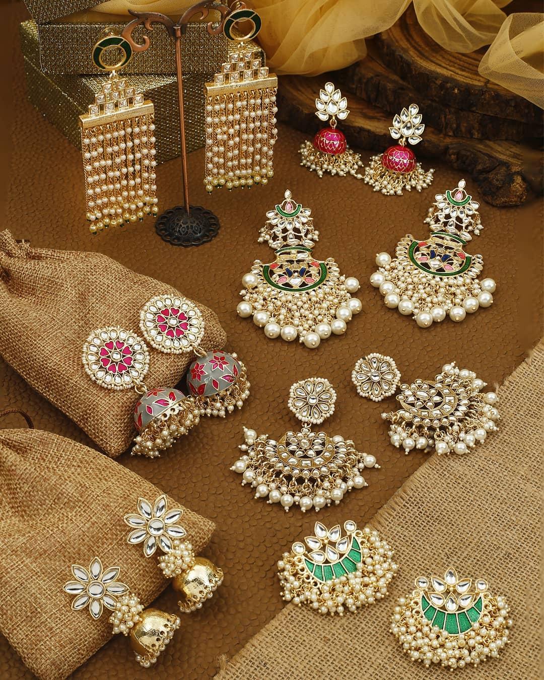 Ethnic Earrings Online(14)