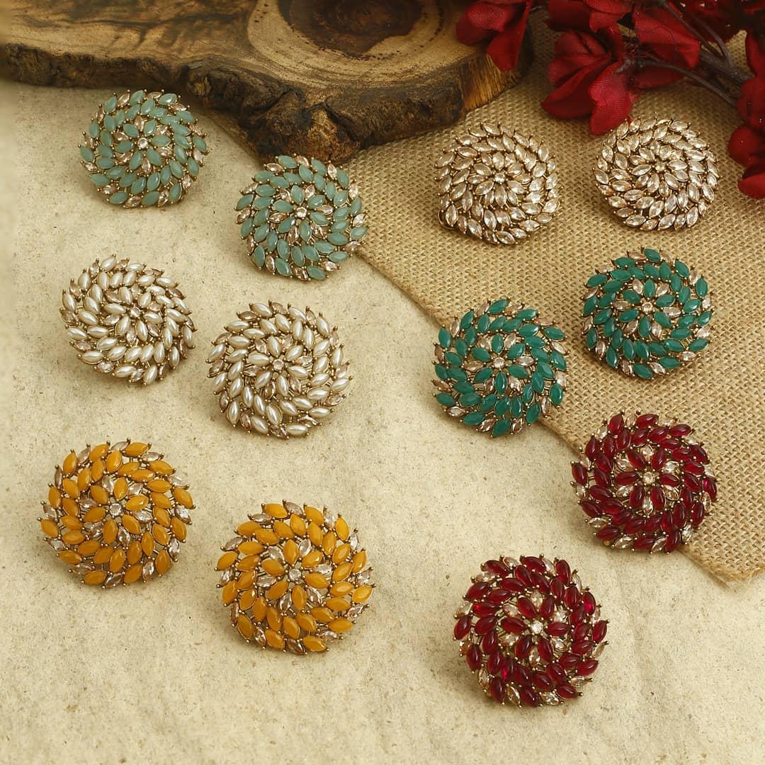 Ethnic Earrings Online(15)