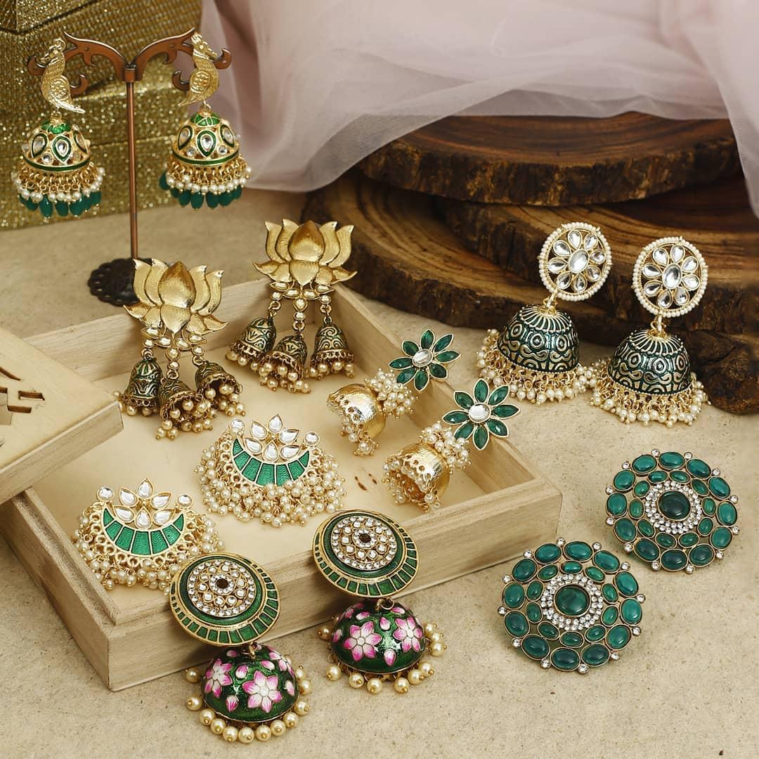 Ethnic Earrings Online(2)