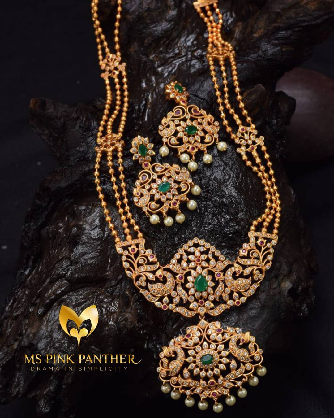 Gold Plated Long Necklace