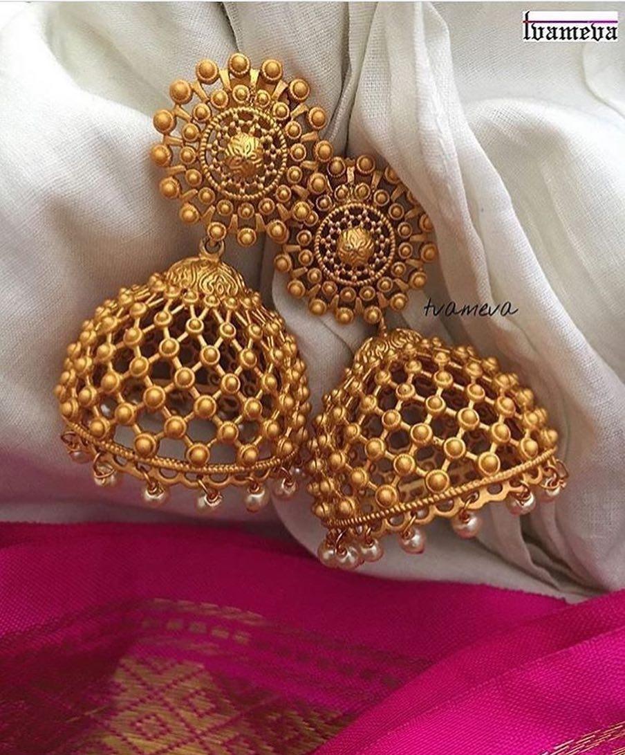 jhumka design image 12 tvameva