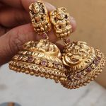 21 Beautiful Gold Jhumka Designs You Have Ever Seen