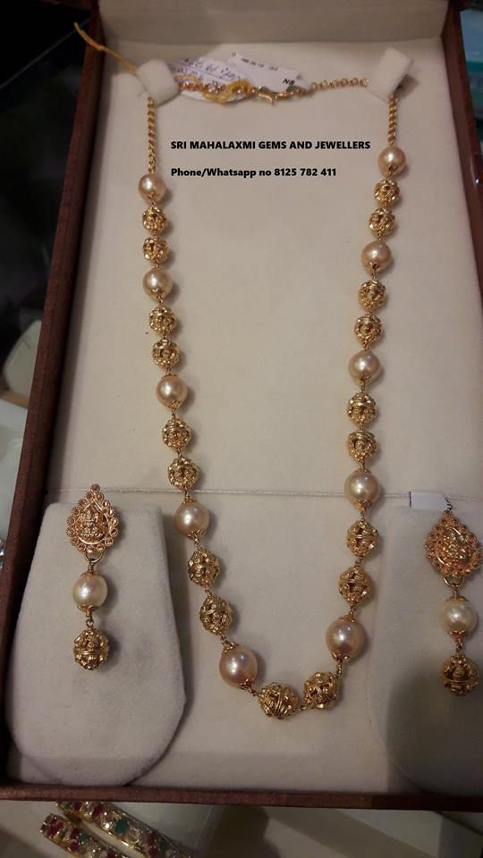 pearl chain designs