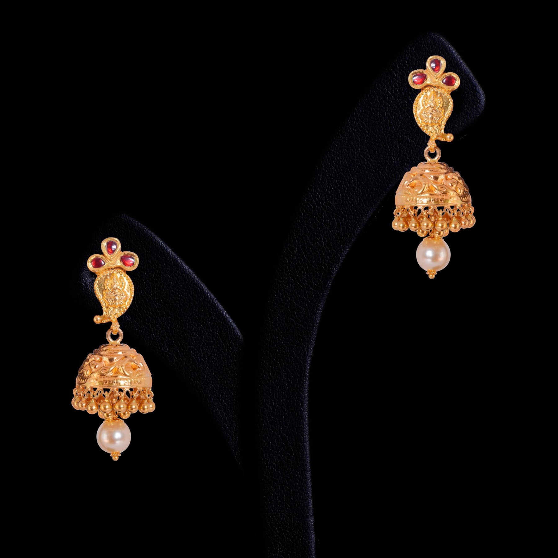 small gold earrings designs