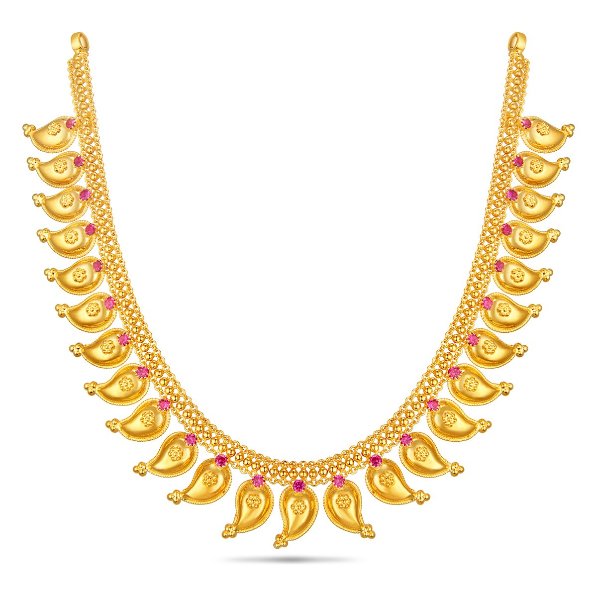 gold necklace designs in 30-grams