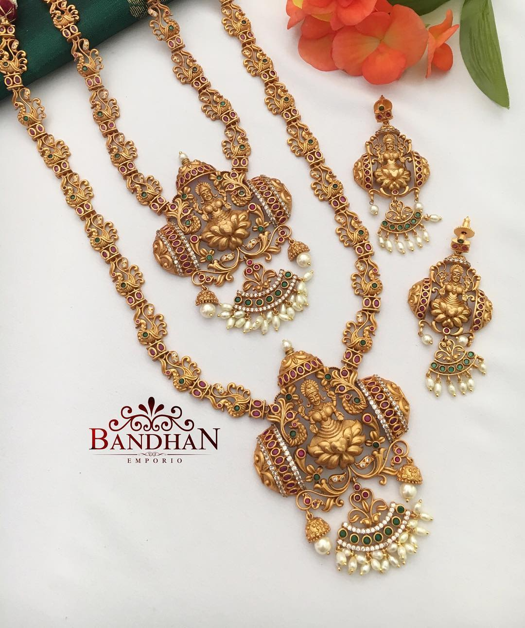 one gram gold temple jewellery online