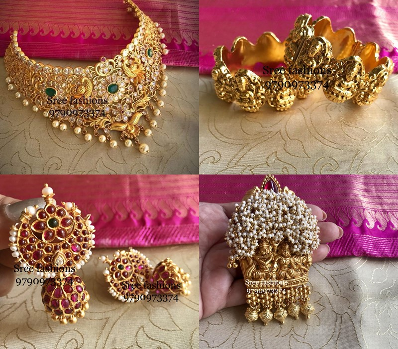 Traditional bridal jewellery designs