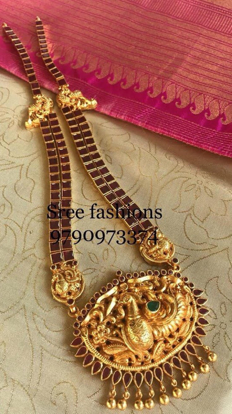 Traditional Jewellery Designs Earrings Long Necklace