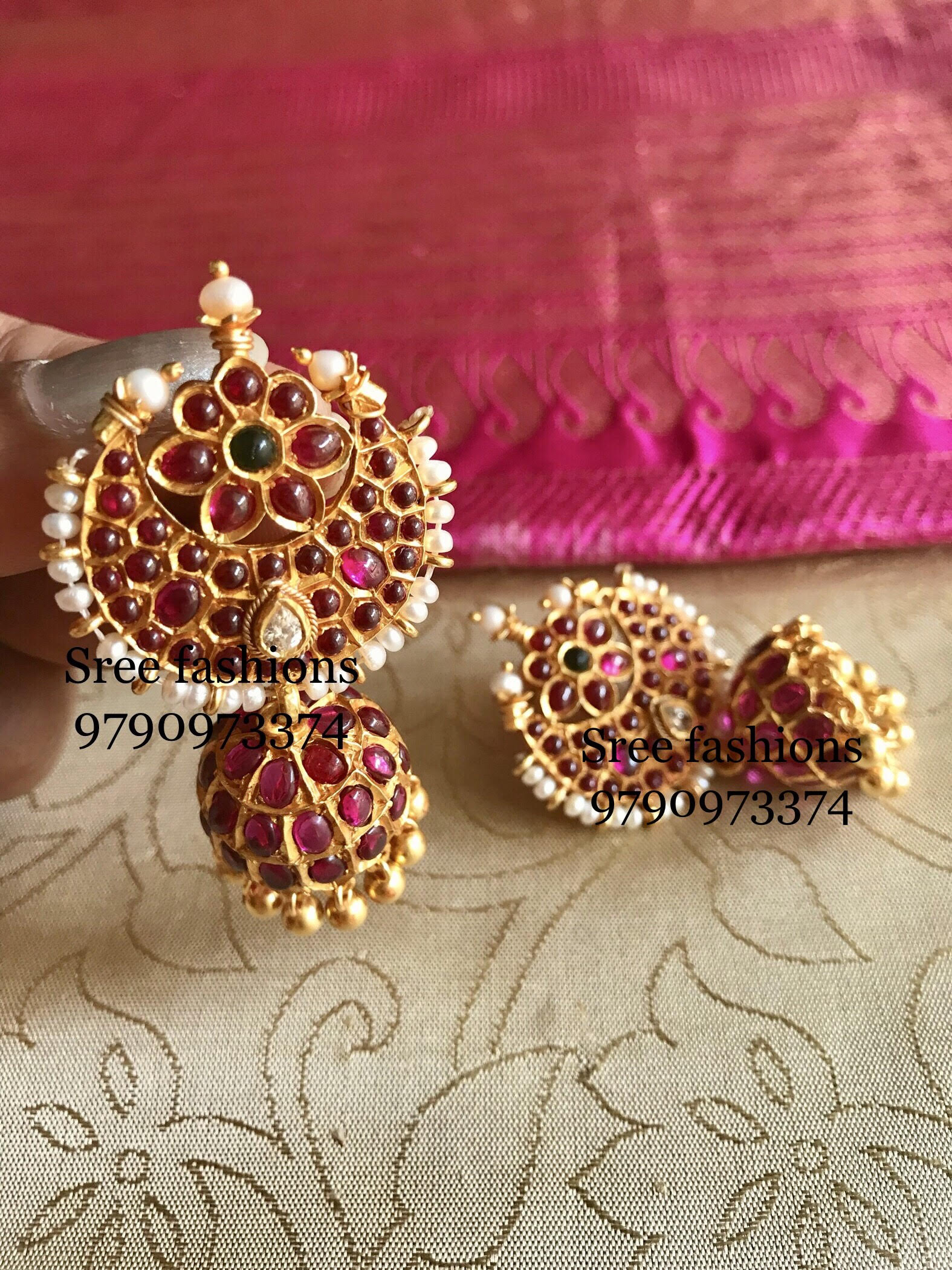 Traditional Jewellery Designs Earrings