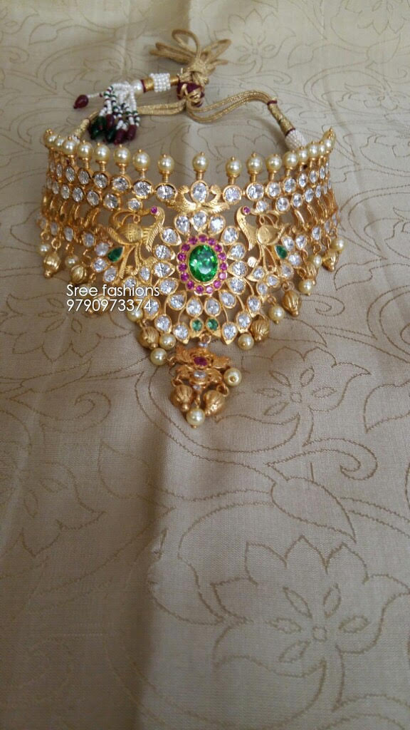 Traditional Jewellery Designs Choker