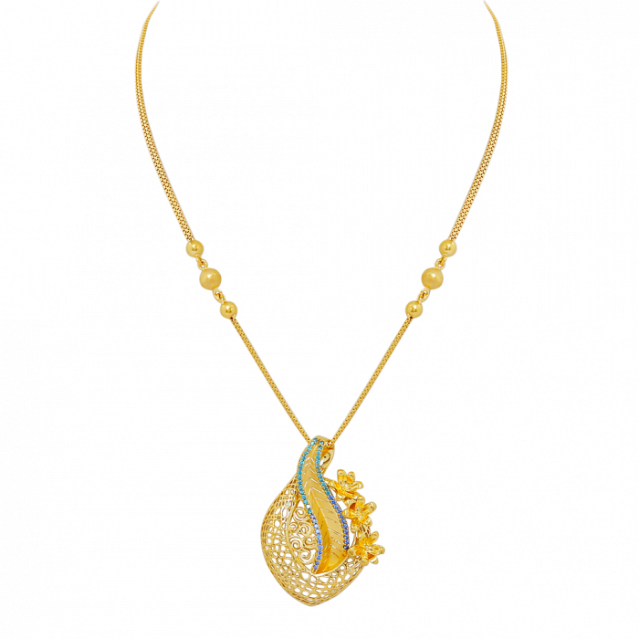 16 gram gold necklace designs