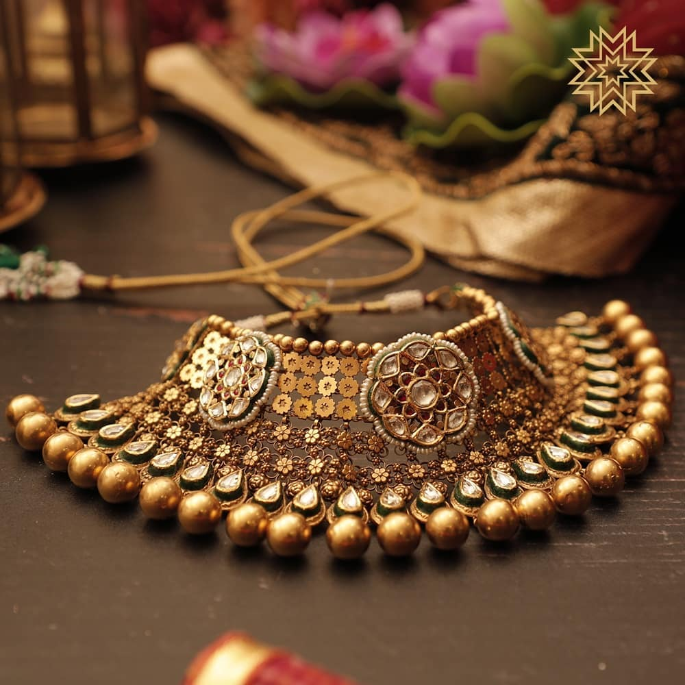 gold necklace designs images