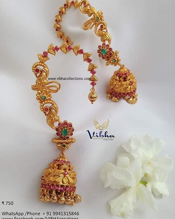 south indian style imitation jewellery designs