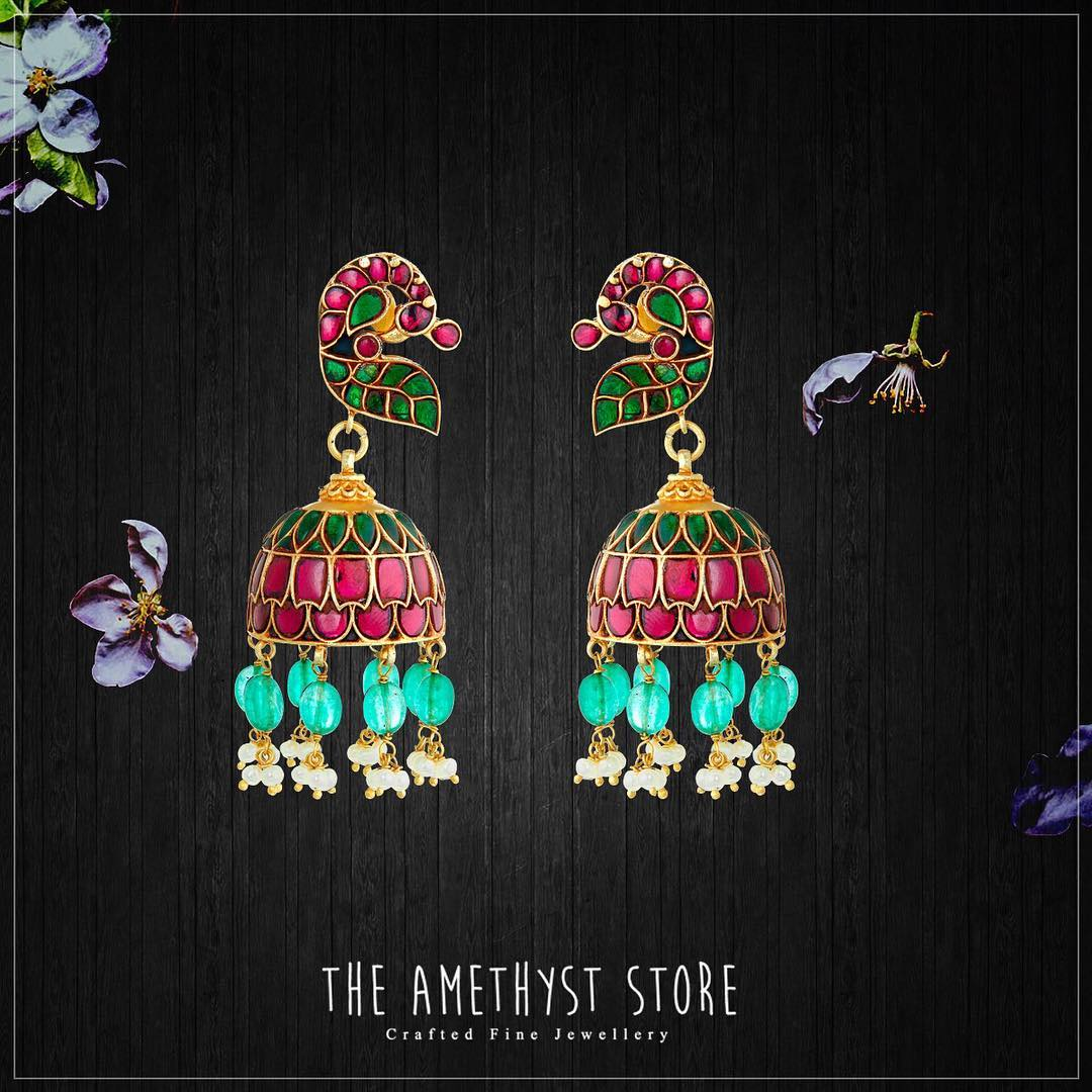 Shop traditional jhumkas online