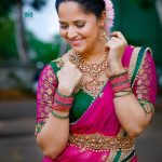 Anasuya Shows How Ruby Sets Can Attenuate Your Look!