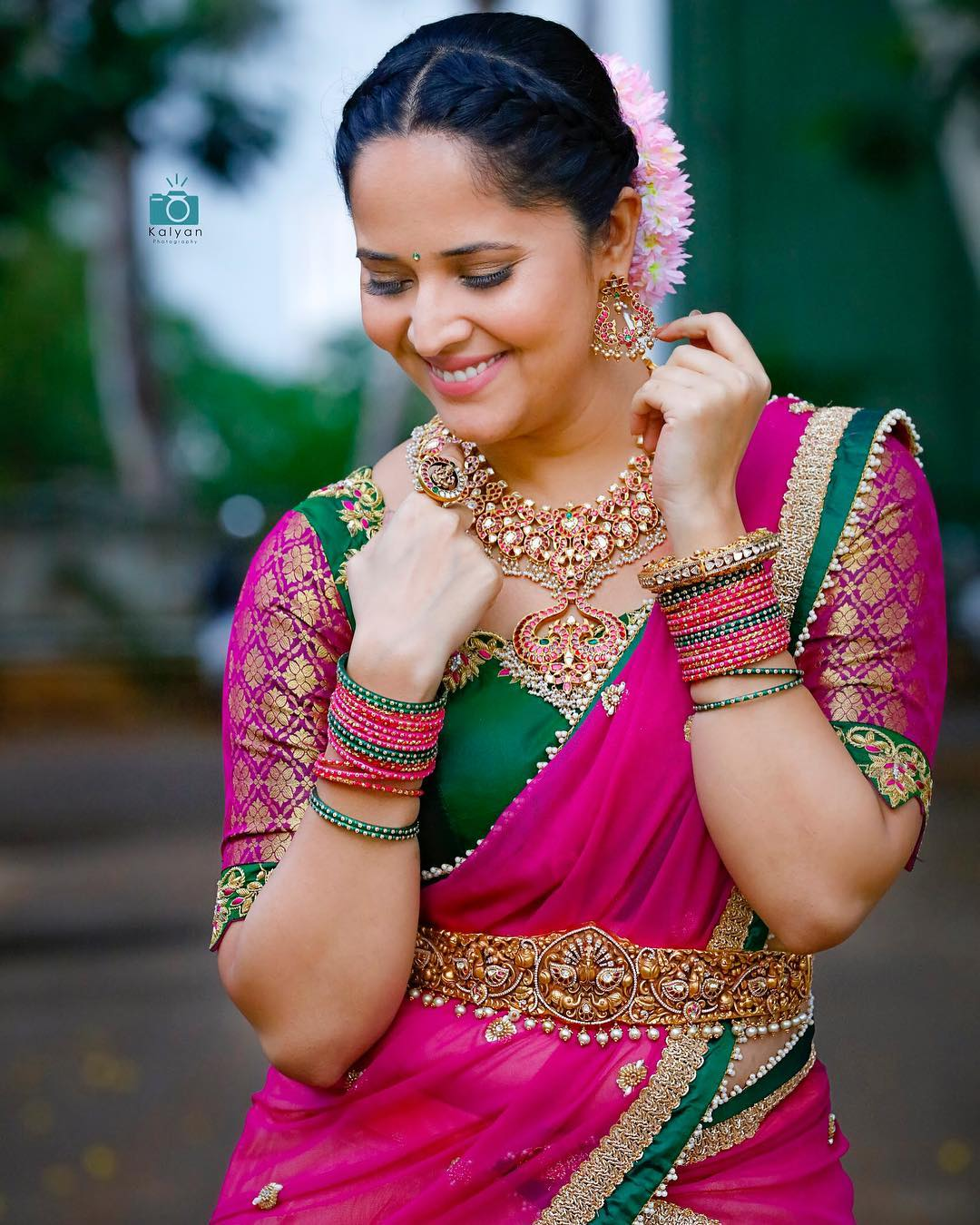 Anasuya jewellery