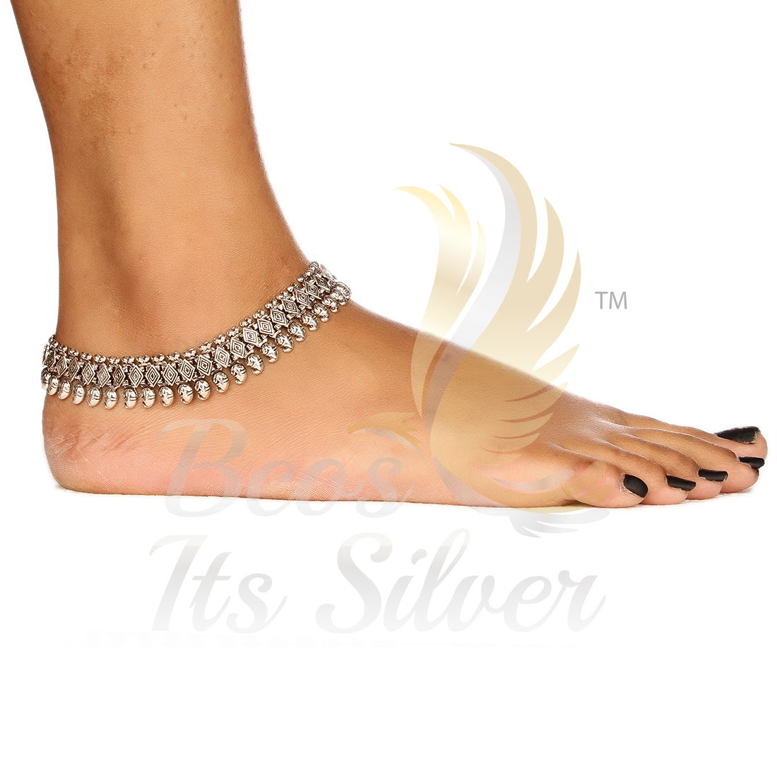 how to clean anklet at home