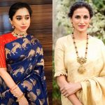 How To Pick Right Matching Jewelry For Sarees