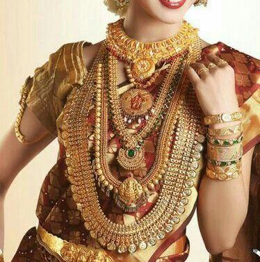 kerala wedding jewellery sets