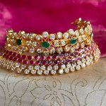 15 Gorgeous Gold Plated Jewellery Designs To Wear With Sarees