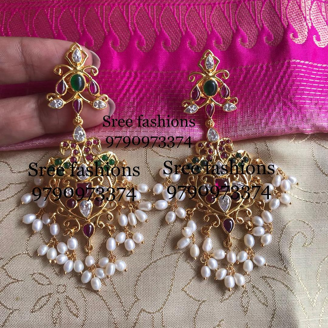 gold-plated-jewellery-designs-for-sarees (9)