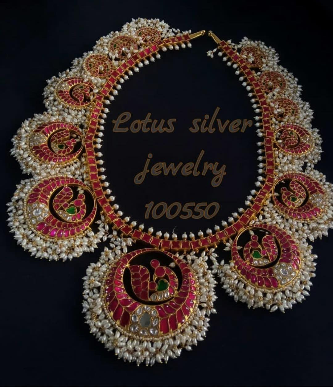 gold-plated-pure-silver-jewellery-designs-2019 (1)