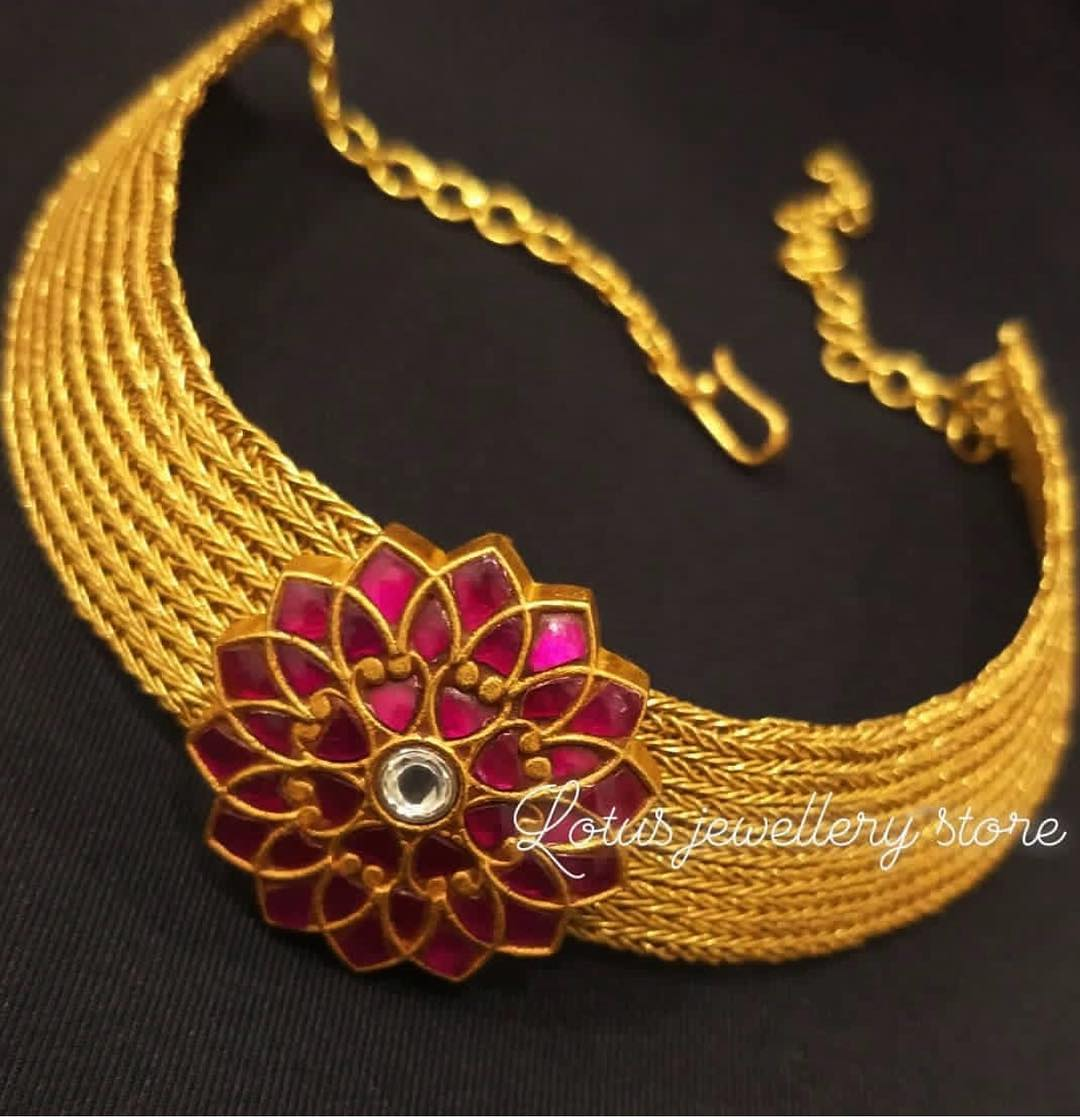 gold-plated-pure-silver-jewellery-designs-2019 (10)