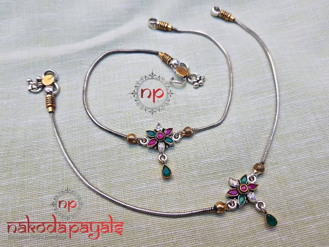 pure-silver-anklet-designs-2019 (8)