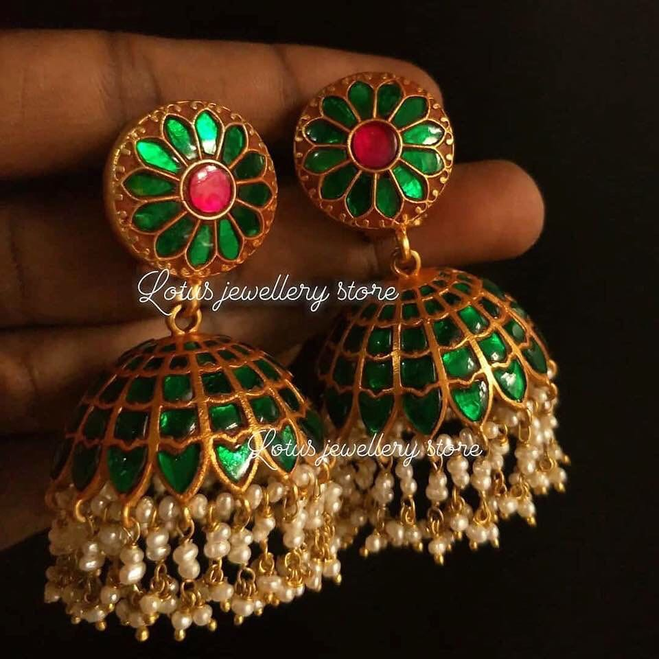 Top-Ruby-Emerald-Jhumkas-Designs (10)