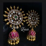 Top Ruby Emerald Jhumka Designs To Flaunt This Wedding Season