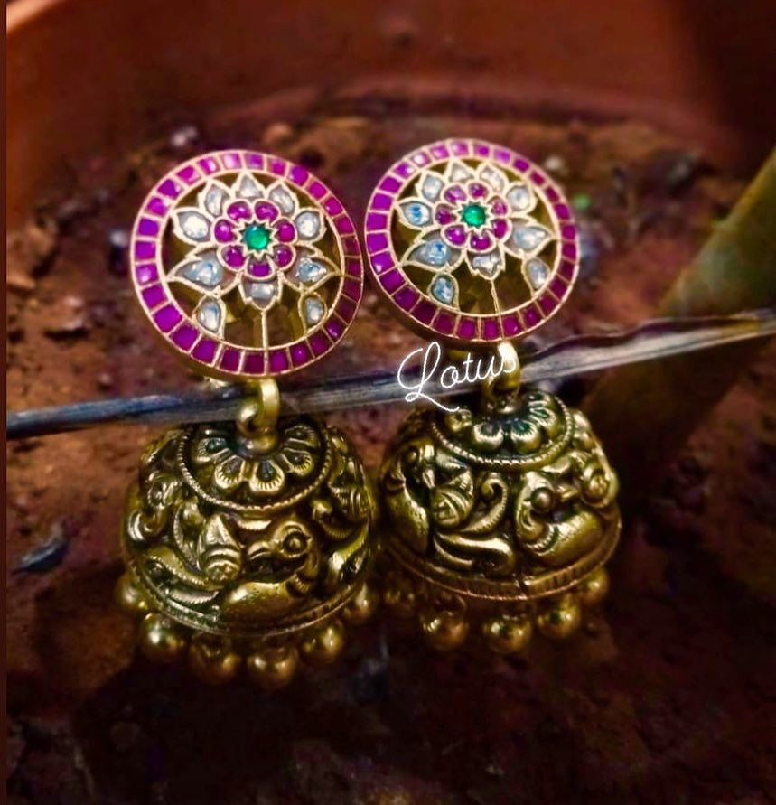 Top-Ruby-Emerald-Jhumkas-Designs (2)