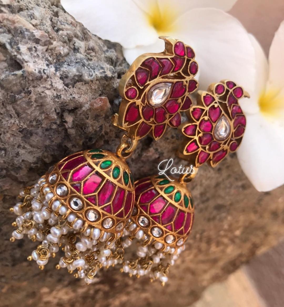 Top-Ruby-Emerald-Jhumkas-Designs (8)