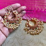 Top Antique Stone Earring Designs For Every Ethnic Outfit
