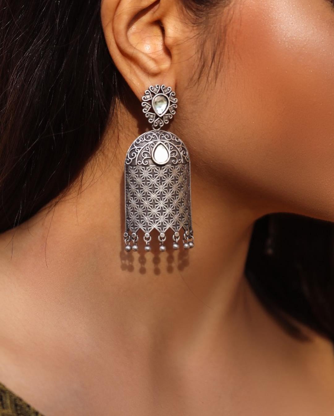 silver-earrings-designs-2019 (15)