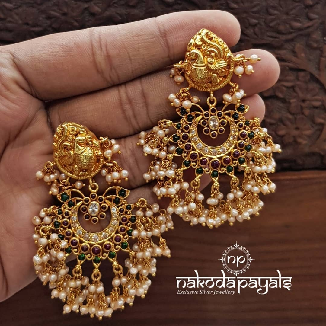 south-indian-gold-plated-pure-silver-earrings (14)
