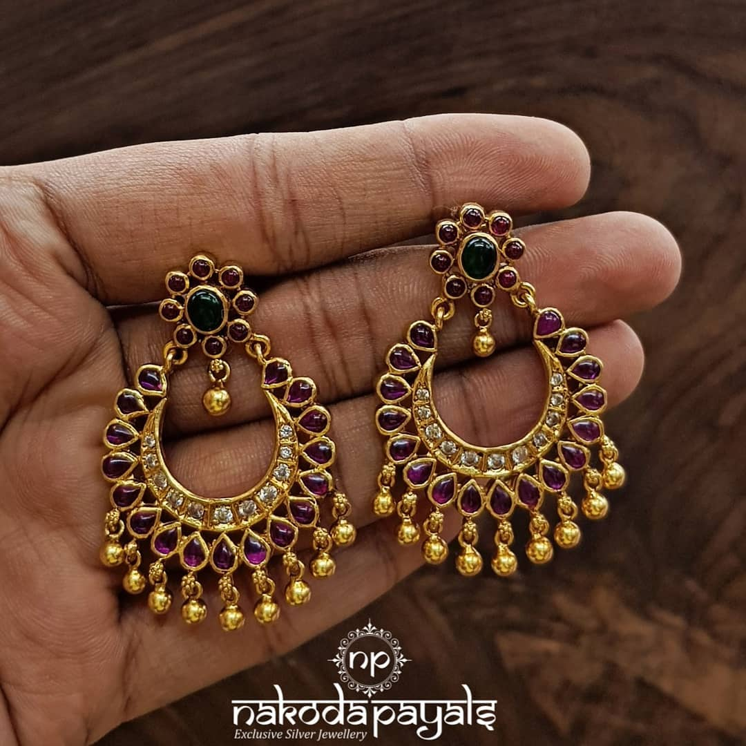 south-indian-gold-plated-pure-silver-earrings (15)