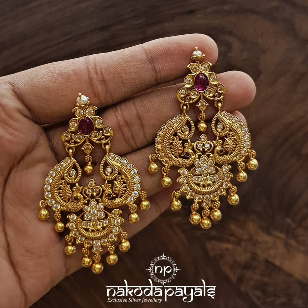south-indian-gold-plated-pure-silver-earrings (5)