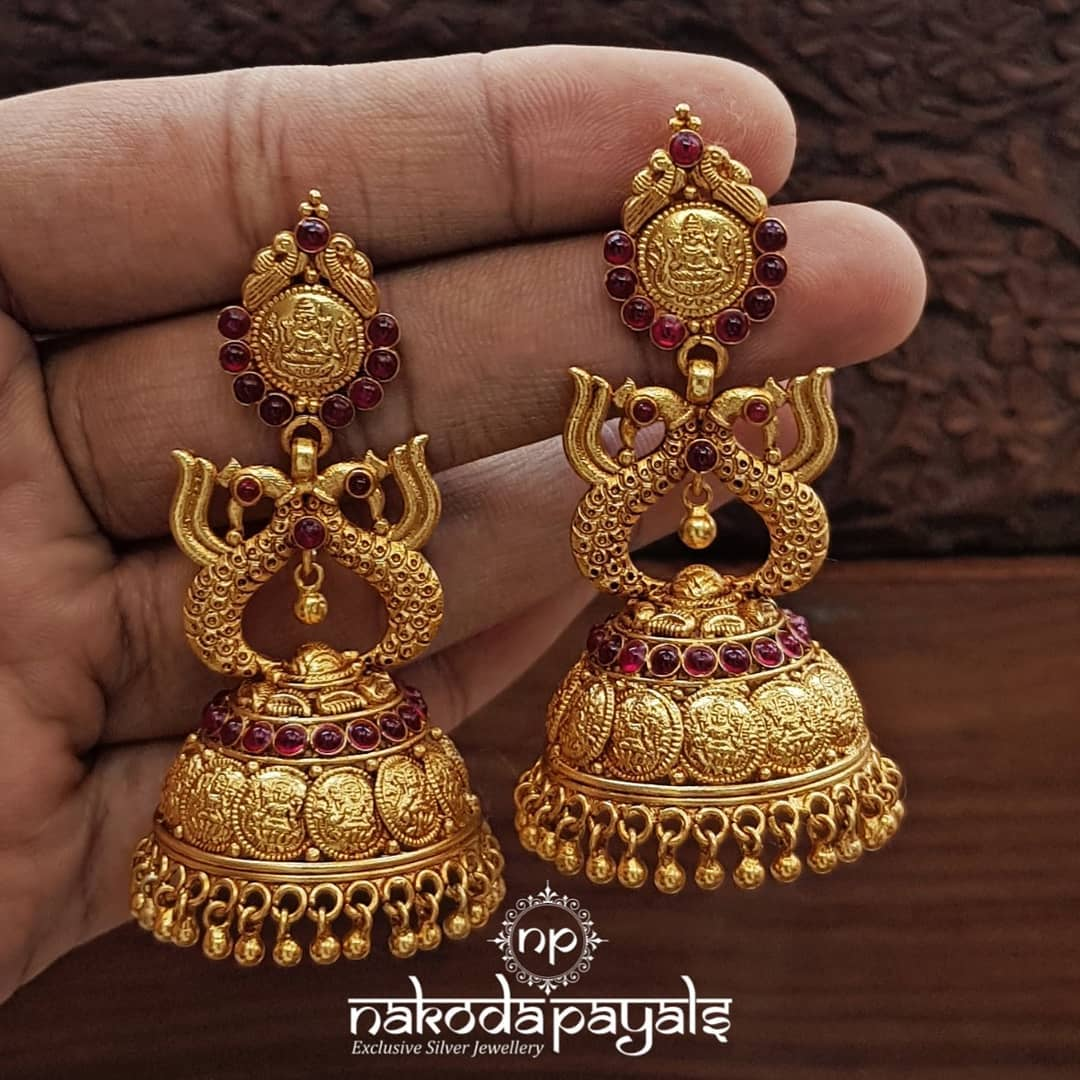 south-indian-gold-plated-pure-silver-earrings (6)