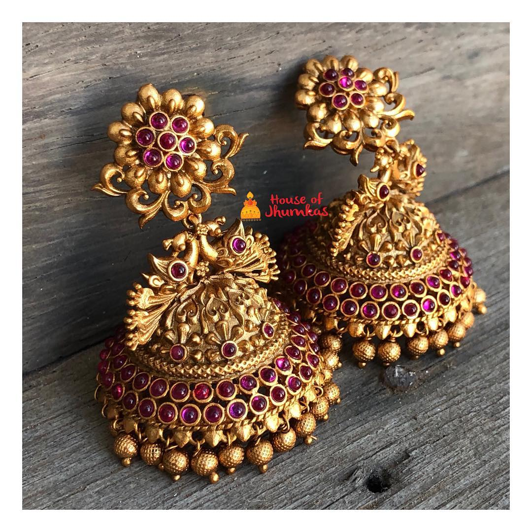 unique-jhumka-designs-2019 (10)