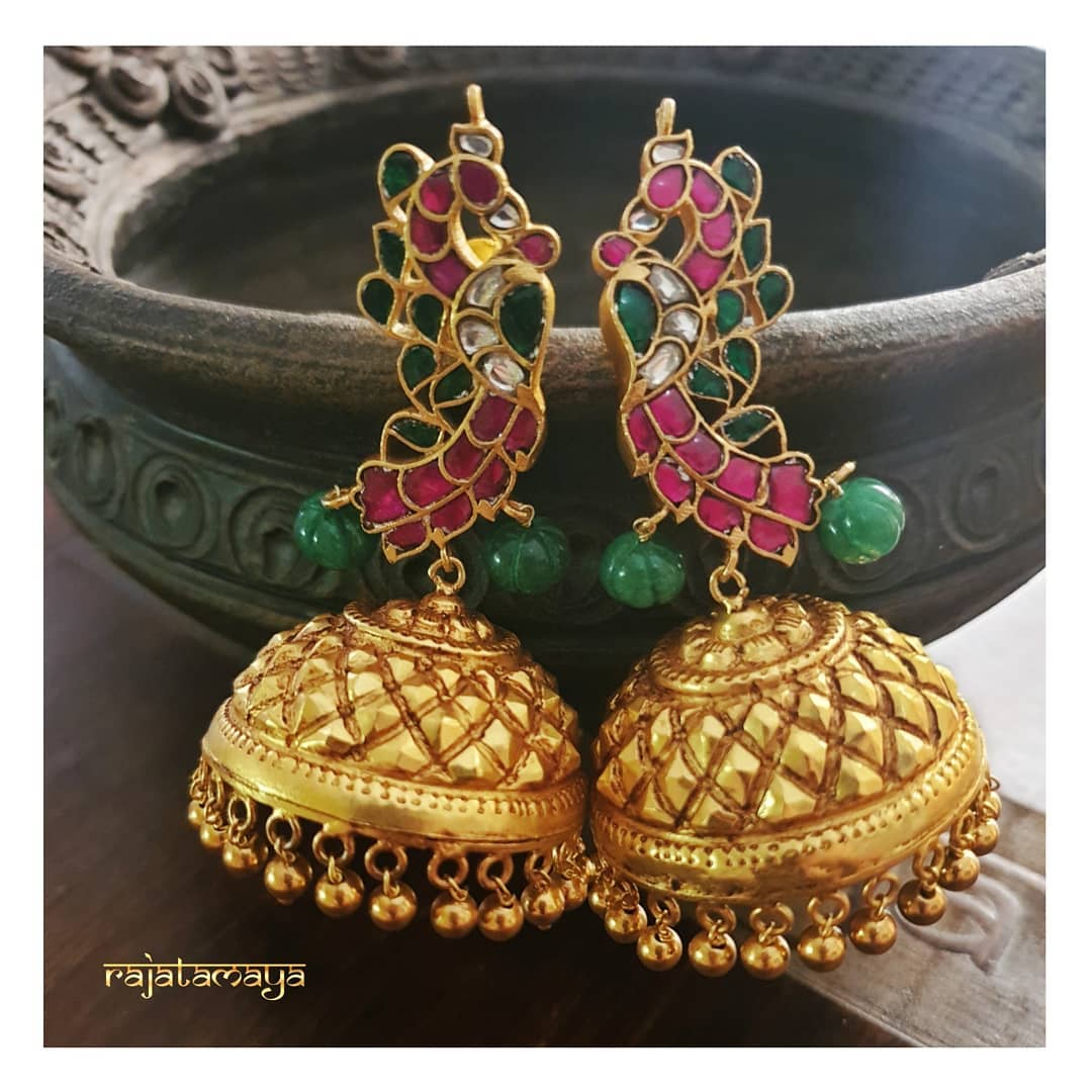 unique-jhumka-designs-2019 (12)